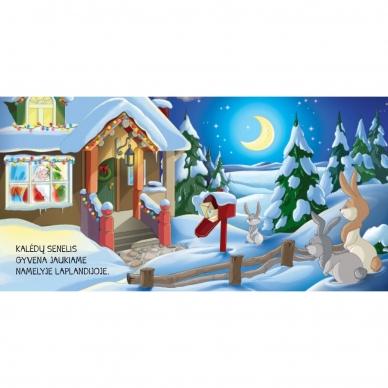 BROKAS!!! Kalėdinės pasakos (rinkinyje 2 knygelės ir dėlionė) (iš grąžinimų) 10