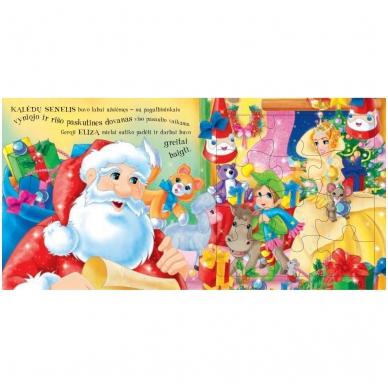 Kalėdinės pasakos (rinkinyje 2 knygelės ir dėlionė) 11