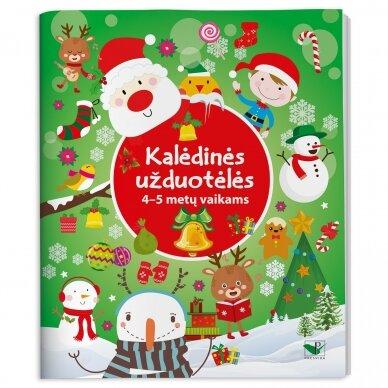 Kalėdinės užduotėlės 4-5 metų vaikams