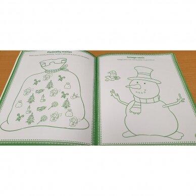Kalėdinės užduotėlės 4-5 metų vaikams 2