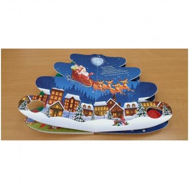 Kalėdų eglutė. Knyga-eglutė su garsais 2-3 metų vaikams 6
