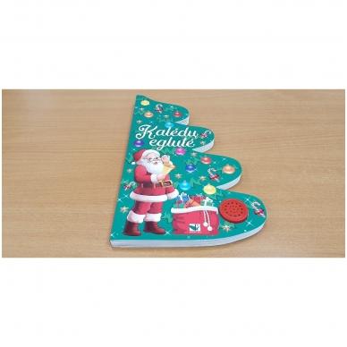 Kalėdų eglutė. Knyga-eglutė su garsais 2-3 metų vaikams 5