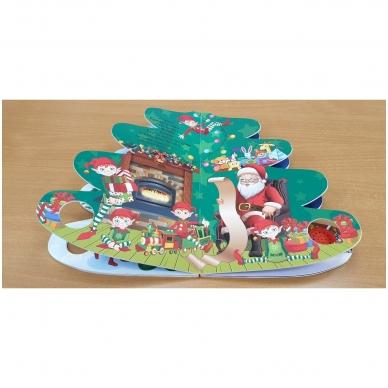 Kalėdų eglutė. Knyga-eglutė su garsais 2-3 metų vaikams 9