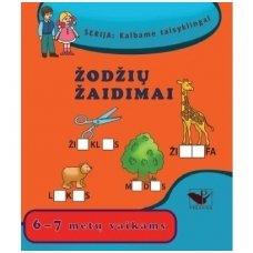 """Serija """"Kalbame taisyklingai"""". ŽODŽIŲ ŽAIDIMAI (6-7 metų vaikams)"""