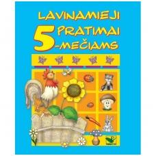 Lavinamieji pratimai 5-mečiams