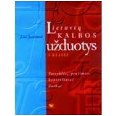 Lietuvių kalbos užduotys 5 klasei (Taisyklės, pratimai, kontroliniai darbai)