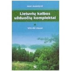 Lietuvių kalbos užduočių komplektai VIII- XII klasei