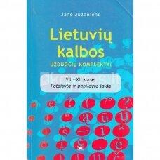 Lietuvių kalbos užduočių komplektai. VIII-XII klasei