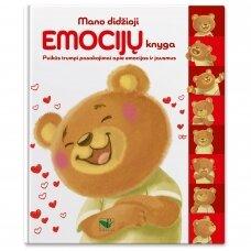 Mano didžioji emocijų knyga. Puikūs trumpi pasakojimai apie emocijas ir jausmus