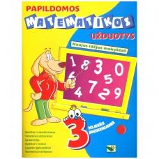 Papildomos matematikos užduotys 3 klasės mokiniams