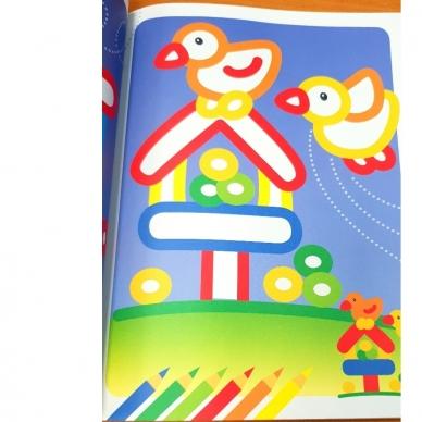 Man patinka spalvinti. Stori spalvoti kontūrai. 3-4 metų vaikams (BROKAS, IŠ GRĄŽINIMŲ) 6