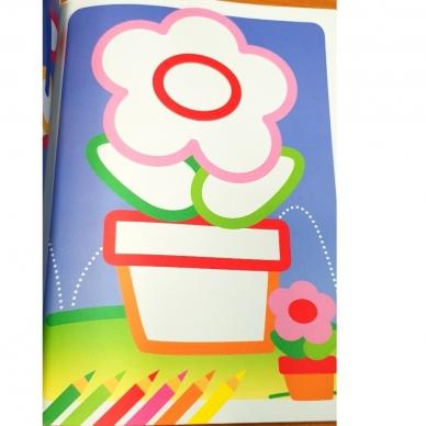 Man patinka spalvinti. Stori spalvoti kontūrai. 3-4 metų vaikams (BROKAS, IŠ GRĄŽINIMŲ) 7