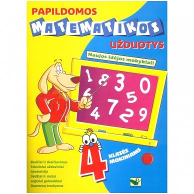 BROKAS!!! Papildomos matematikos užduotys 4 klasės mokiniams (iš grąžinimų)