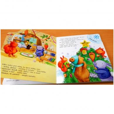 Mažojo meškiuko Kalėdos (kerintys garsai, šviečiantys žibintai, kalėdinė melodija) 3
