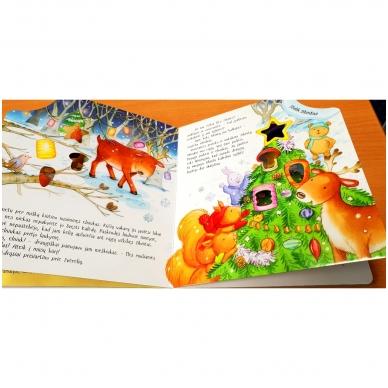 Mažojo meškiuko Kalėdos (kerintys garsai, šviečiantys žibintai, kalėdinė melodija) 4