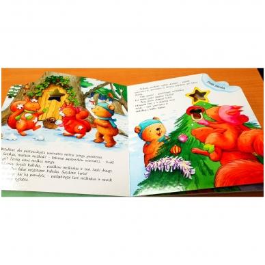Mažojo meškiuko Kalėdos (kerintys garsai, šviečiantys žibintai, kalėdinė melodija) 5