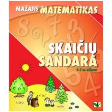 """Serija """"Mažasis matematikas"""". SKAIČIŲ SANDARA (6-7 m. vaikams)"""