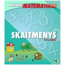 """Serija """"Mažasis matematikas"""". SKAITMENYS (5-6 m. vaikams)"""