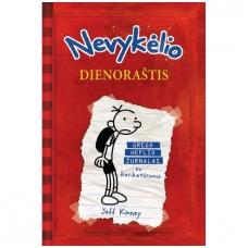 Nevykėlio dienoraštis 1. Grego Heflio žurnalas su karikatūromis