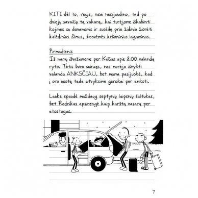 Nevykėlio dienoraštis 12. Atostogos 8