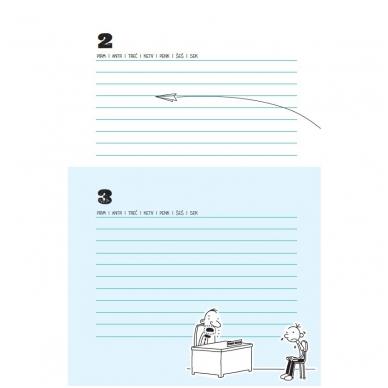 """Nevykėlio dienoraštis. Mokinio kalendorius + dovana """"Nevykėlio rašiklis"""" 4"""