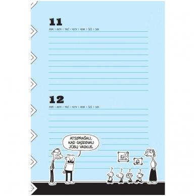 """Nevykėlio dienoraštis. Mokinio kalendorius + dovana """"Nevykėlio rašiklis"""" 6"""