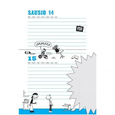 """Nevykėlio dienoraštis. Mokinio kalendorius + dovana """"Nevykėlio rašiklis"""" 7"""