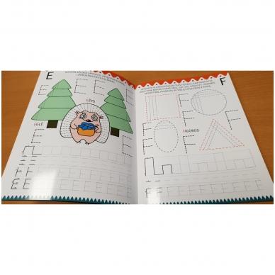 Noriu rašyti 5-6 m.vaikams. Nutrynęs vėl rašyk. Su flomasteriu 6