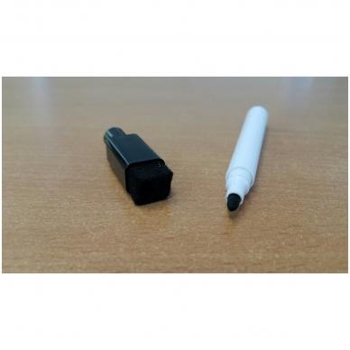 Nuvalomas rašiklis su kamštuku ir kempinėle 4