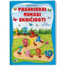 Pasakiukai mokosi skaičiuoti 5-6 m.vaikams. D. Dubinienė