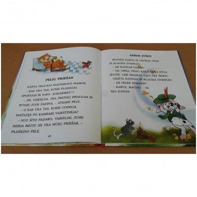 Pasakos ir mįslės. Pirmoji skaitymo knyga 5-6 metų vaikams 9