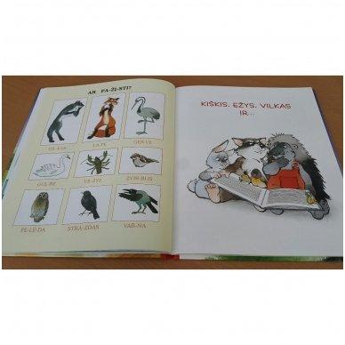 Pasakos ir mįslės. Pirmoji skaitymo knyga 5-6 metų vaikams 5
