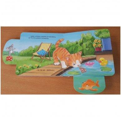 Pažaiskime katę ir pelę. 1-2 metų vaikams 7