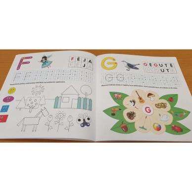Pažink ir rašyk raides. 5-6 metų vaikams 2