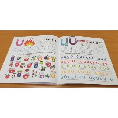 Pažink ir rašyk raides. 5-6 metų vaikams 3