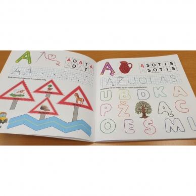 Pažink ir rašyk raides. 5-6 metų vaikams 4
