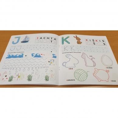 Pažink ir rašyk raides. 5-6 metų vaikams 5