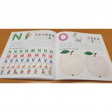 Pažink ir rašyk raides. 5-6 metų vaikams 6