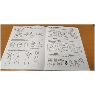 Pirmieji matematikos žingsneliai 4-5 metų vaikams 2