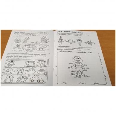 Pirmieji matematikos žingsneliai 4-5 metų vaikams 3