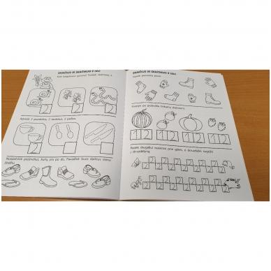 Pirmieji matematikos žingsneliai 4-5 metų vaikams 4