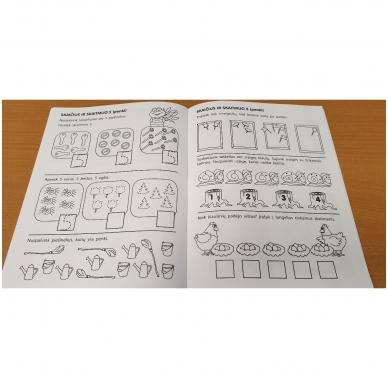 Pirmieji matematikos žingsneliai 4-5 metų vaikams 5