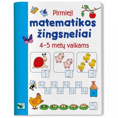 Pirmieji matematikos žingsneliai 4-5 metų vaikams