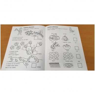 Pirmieji matematikos žingsneliai 5-6 metų vaikams 2