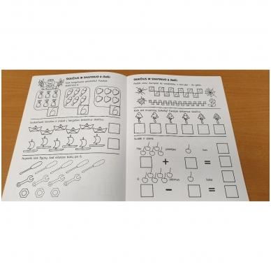 Pirmieji matematikos žingsneliai 5-6 metų vaikams 3