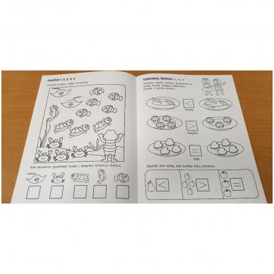 Pirmieji matematikos žingsneliai 5-6 metų vaikams 4