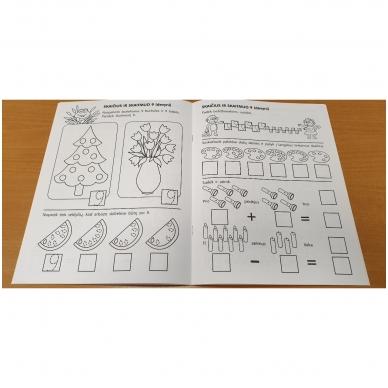Pirmieji matematikos žingsneliai 5-6 metų vaikams 6