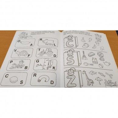 Pirmieji raidžių pažinimo žingsneliai 4-5 metų vaikams 3