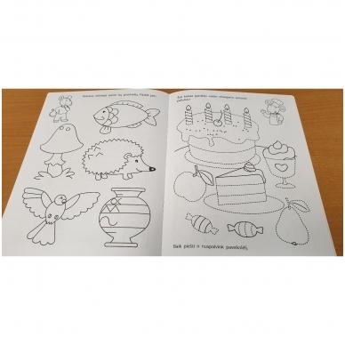 Pirmieji rankos lavinimo žingsneliai 4-5 metų vaikams 3