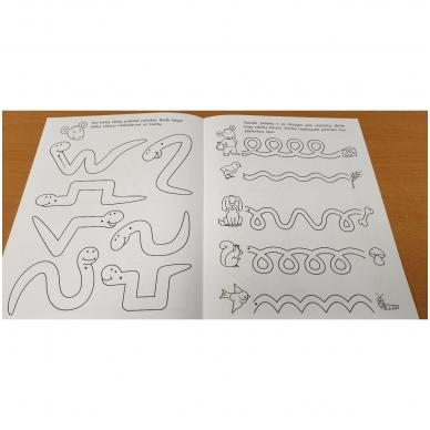 Pirmieji rankos lavinimo žingsneliai 4-5 metų vaikams 4